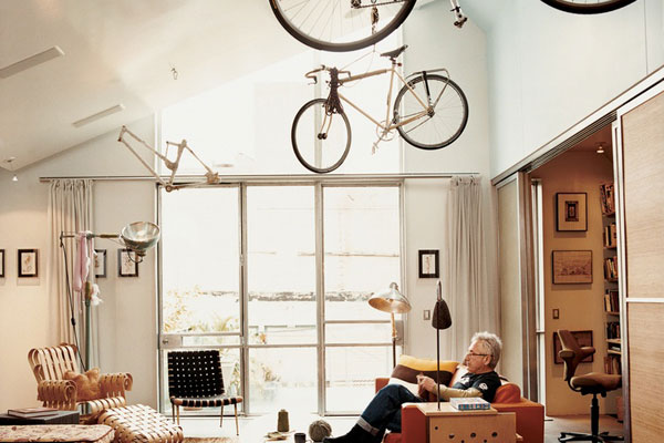Bicycle Storage Living Room