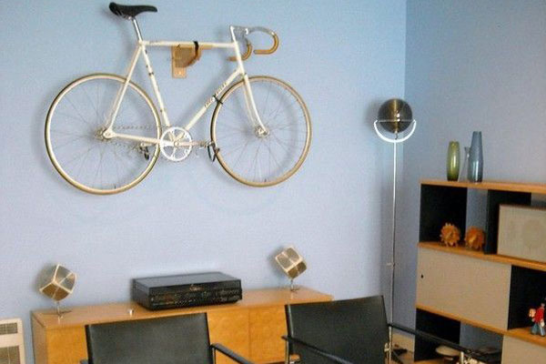 Vintage Room Bicycle Hangers
