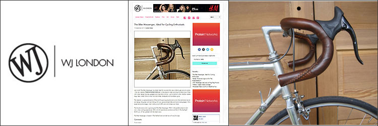 WJLondon Magazine The Bike Messenger